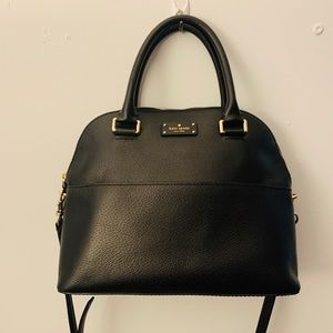 Gorgeous leather Kate Spade satchel -new condition